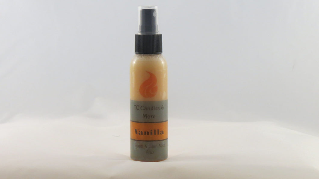Vanilla Fragrance spray - TC Candles & More , Spray - TC Candles & More ,