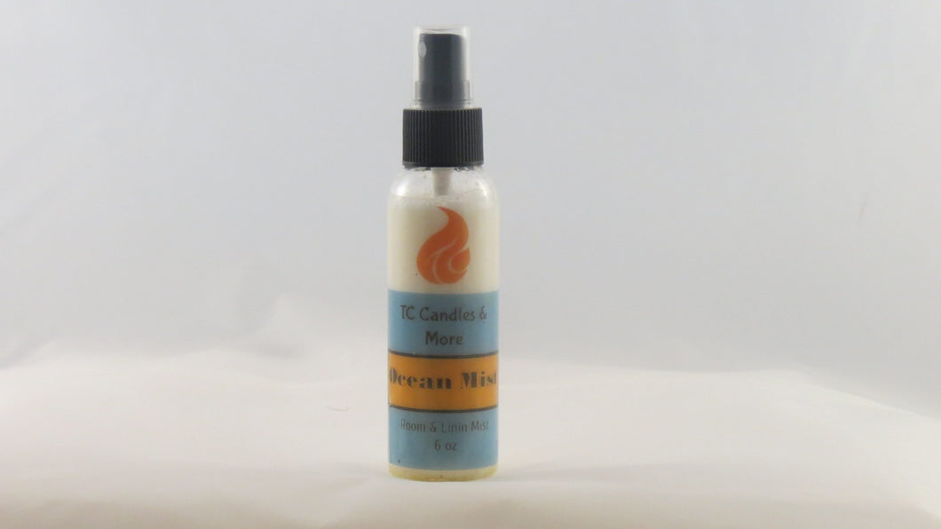 Ocean Mist Fragrance Spray - TC Candles & More , Spray - TC Candles & More ,