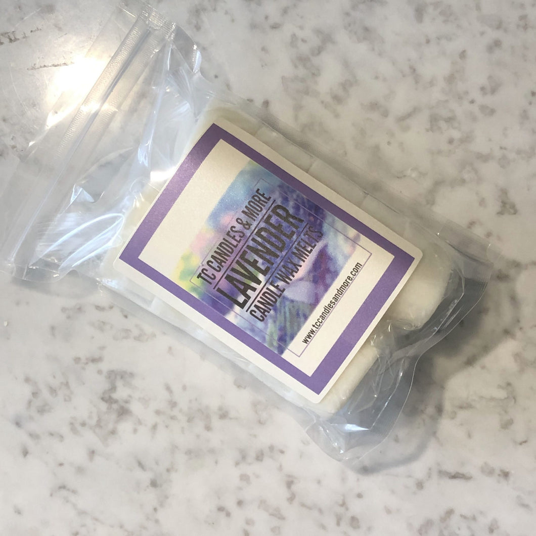 Lavender Scented Wax Melts - TC Candles & More