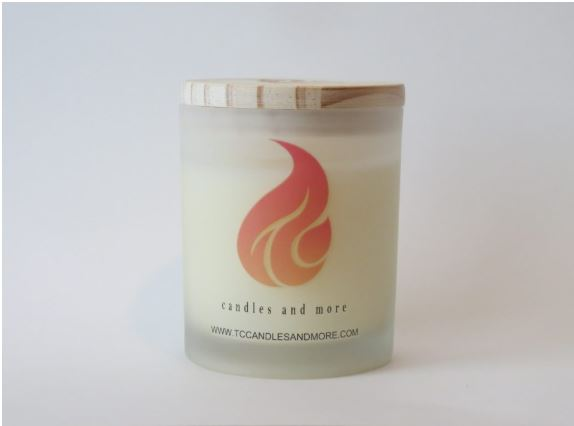 Cannabis Flower scented 15 oz candle - TC Candles & More , Jar Candle - TC Candles & More ,