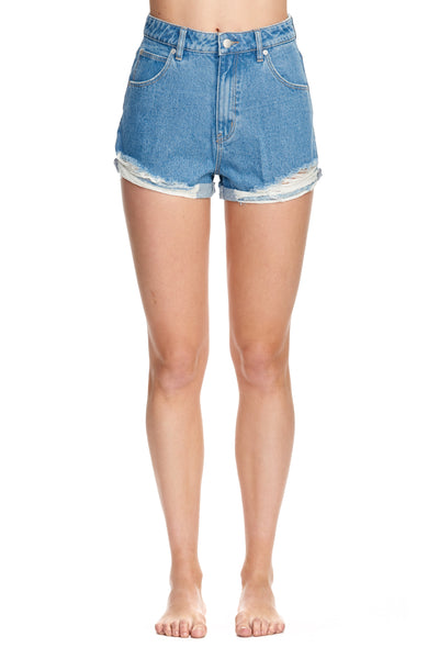 Dusters Shorts Threadbare Blue