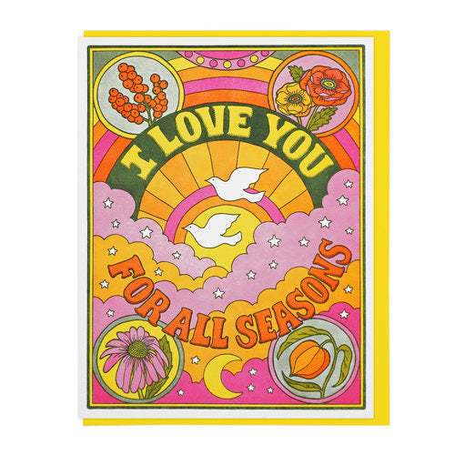 Love For All Seasons Greeting Card