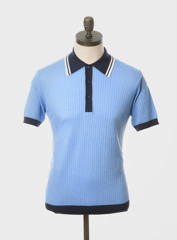 Freeman Sky Blue Polo Shirt