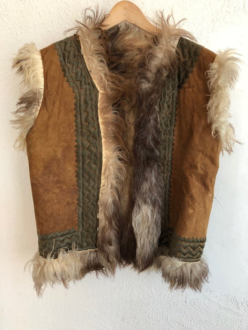 Brown Suede Vest