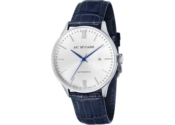 London Automatic Blue Strap Watch