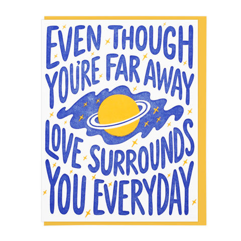 Love Surrounds You Greeting Card