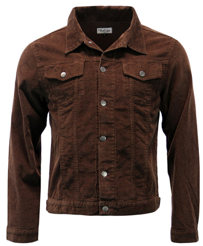 Woburn Cord Jacket Brown