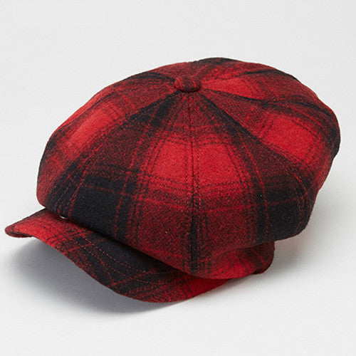Marco Casquette Ombre Check Red