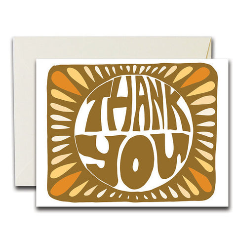 """Monarch Thank You"" Card"