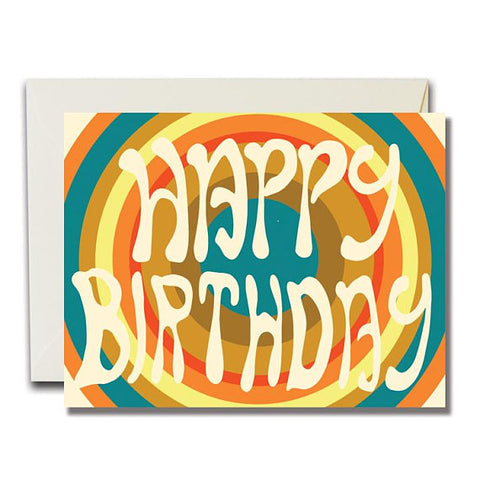 Happy Birthday Trance Card
