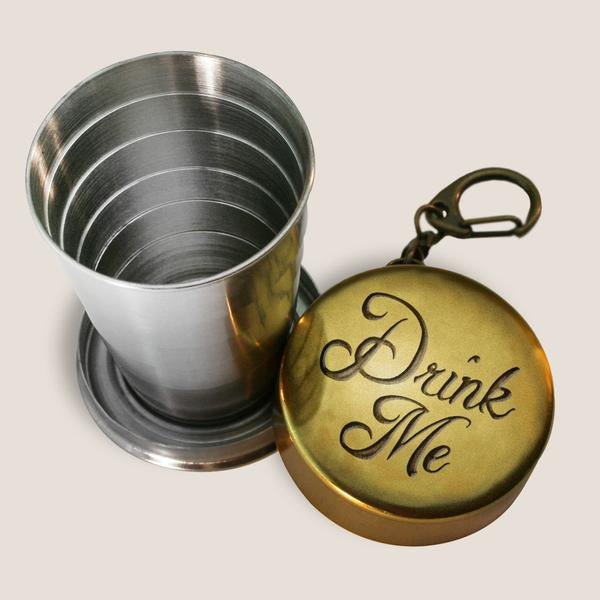 Drink Me Portable Shot Glass