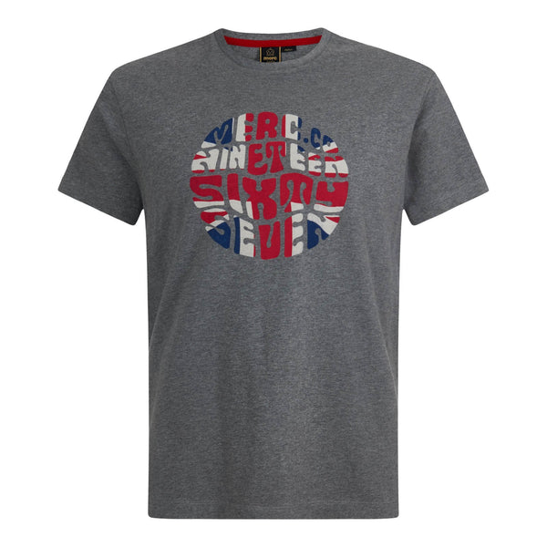 Saxby Union Jack Shirt Mineral