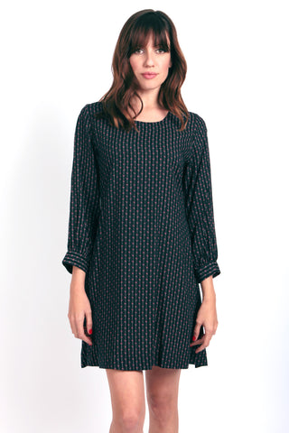 Shift Dress with Back Keyhole