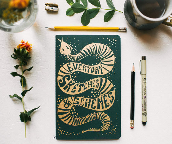 Sneaky Snake Notebook