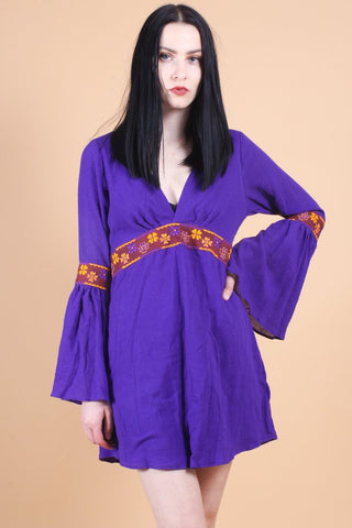 Anita Mini Dress Violet
