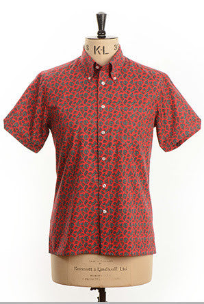 Arthur Paisley S/S Red