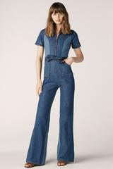 Blue Jean Baby Denim Jumpsuit