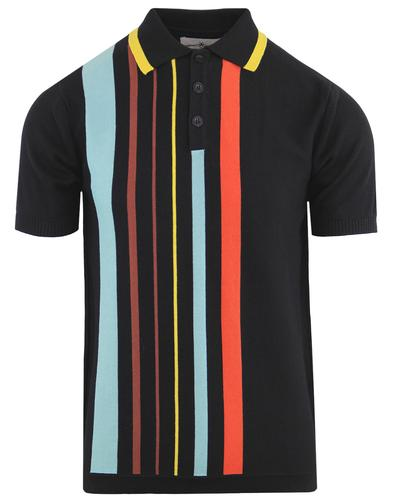Bauhaus Knit Polo Black