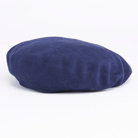 Cotton Beret Navy