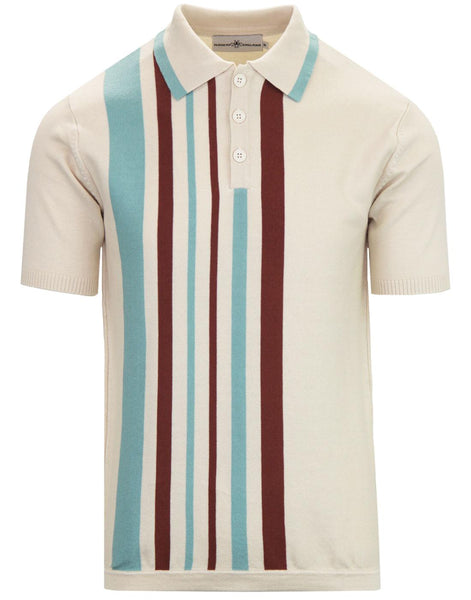 Bauhaus Knit Polo Birch