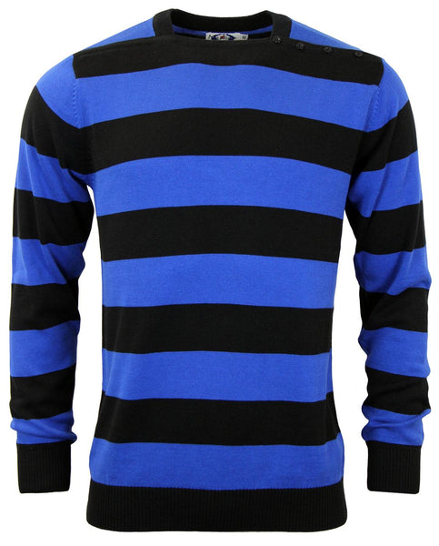 Jones Blue Stripe L/S