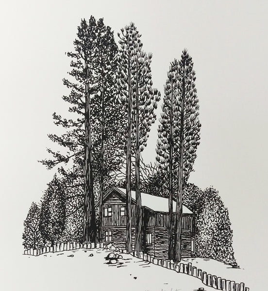 Cabin 4 Greeting Card