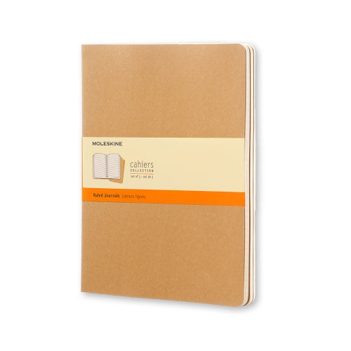 Pocket-Sized Ruled Journal, Set of 3