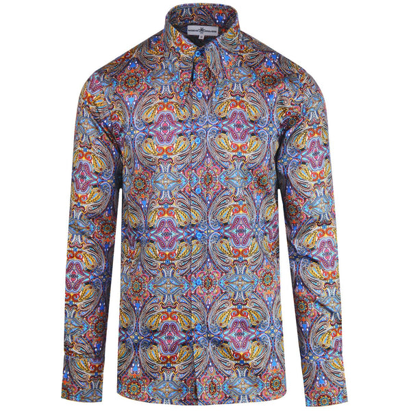 Capo Paisley Psychedelic Spear Shirt