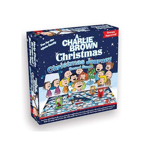 Charlie Brown Christmas Journey Board Game
