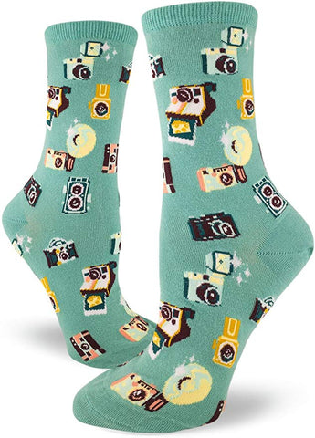 Say Cheese Women's Crew Socks