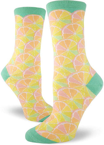 Citrus Women's Crew Socks Green
