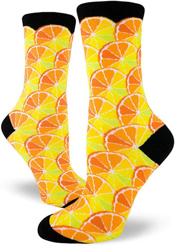 Citrus Women's Crew Socks Black