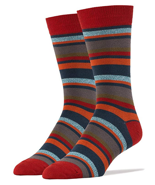 Mr. Conrad Men's Bamboo Crew Dress Socks