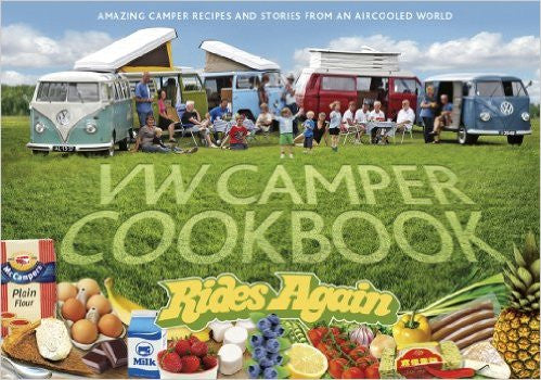 VW Camper Cookbook Rides Again Book