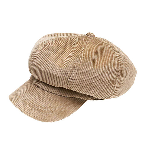 Casquette Waisted Corduroy Brown