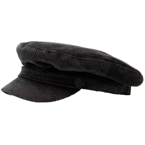 Beatle Hat Black Corduroy