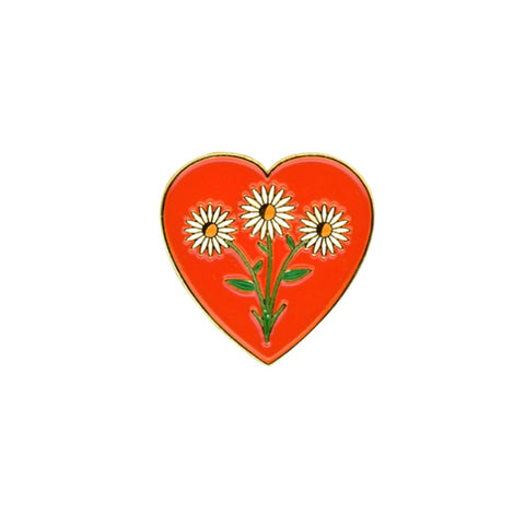 Daisy Love Enamel Pin