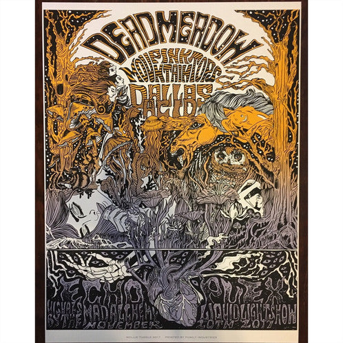Dead Meadow Screen Print Framed Art