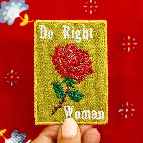 Do Right Woman Patch