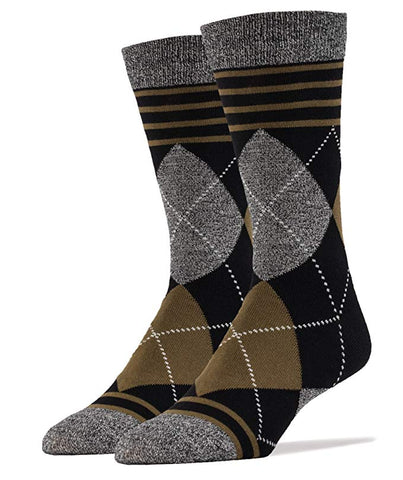 Mr. Elliot Bamboo Men's Crew Socks