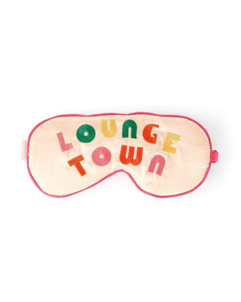 Lounge Town Eye Mask