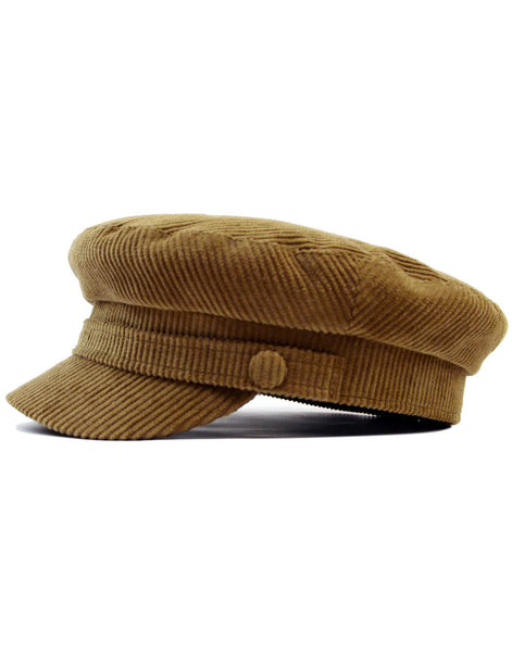 Beatle Hat Mariner Fawn Corduroy