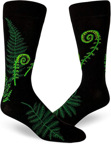 Fern & Fiddleheads Men's Crew Socks
