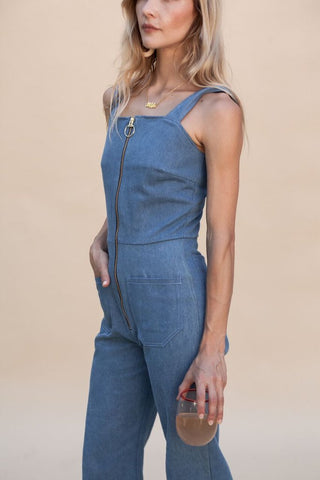 Fibi Jumpsuit Indigo Wash