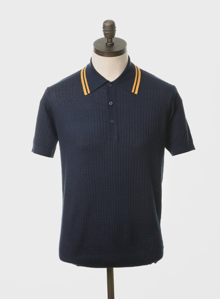 Freeman Navy Blue Polo Shirt