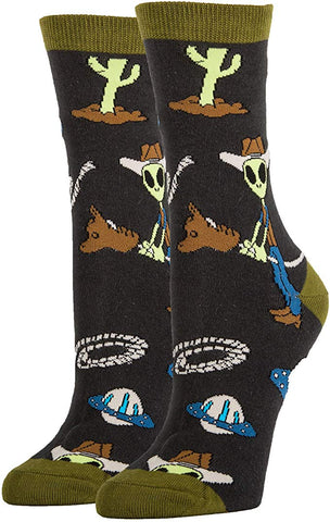 Final Frontier Women's Crew Socks