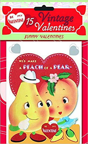 15 Vintage Valentine Cards Fruits