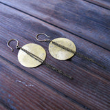 Fool Moon Eclipse Earrings