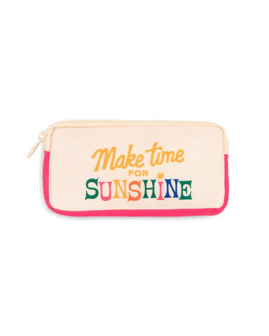 Make Time For Sunshine Glasses Case