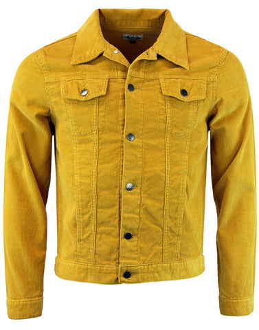 Woburn Cord Jacket Gold